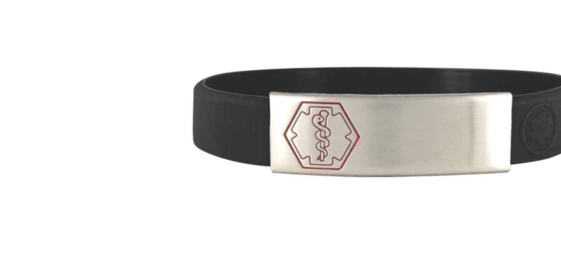 Sleek Medical ID Bracelets