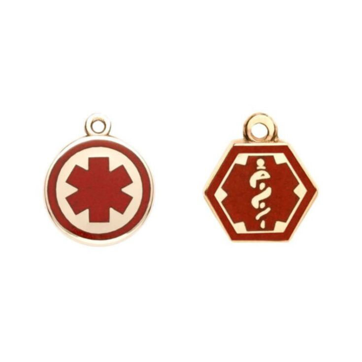 Gold/Gold-Filled Alert Charms