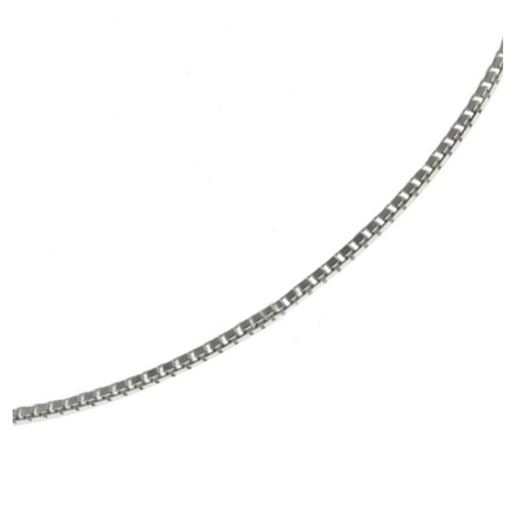 Sterling Silver Box Chain Accessory