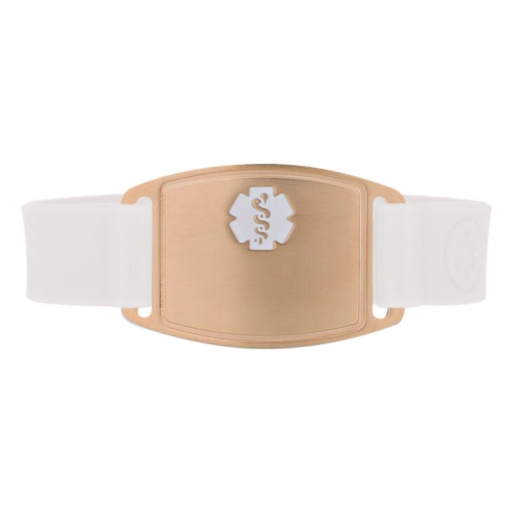 Rose Gold Small Silicone Flex