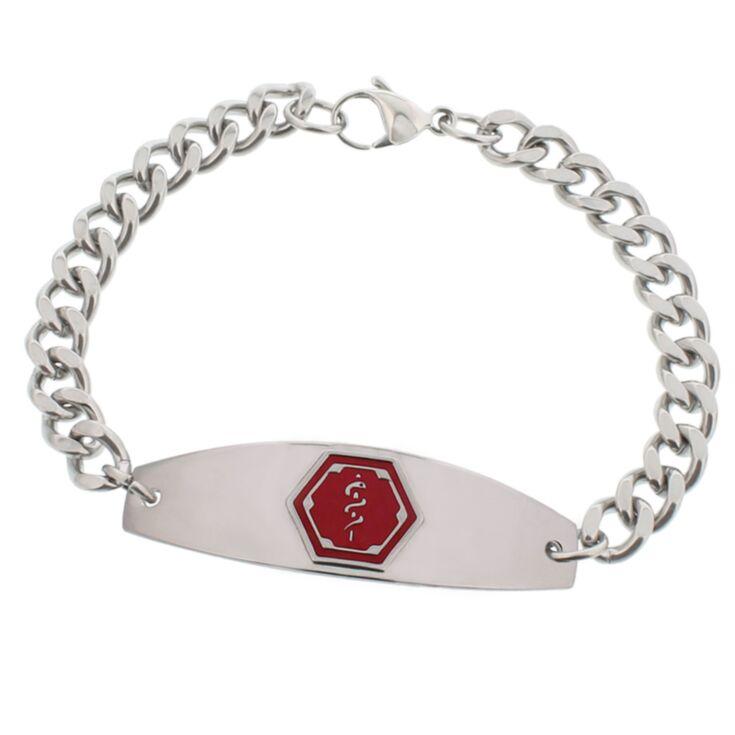 Stainless Steel Premier Red Bracelet