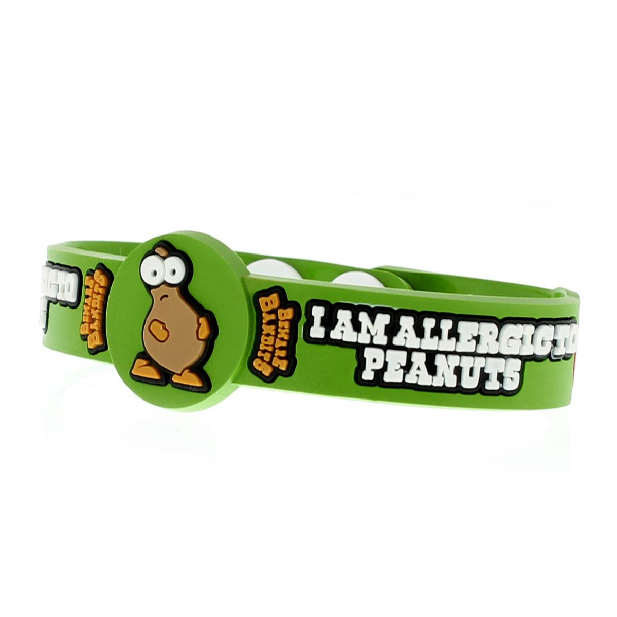 Kids Peanut Allergy Silicone Medical Id