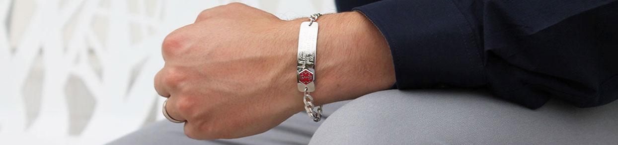 Celiac Disease Medical ID Bracelet and Necklace