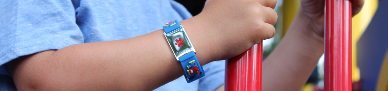 EpiPen Medical ID Bracelet and Necklace