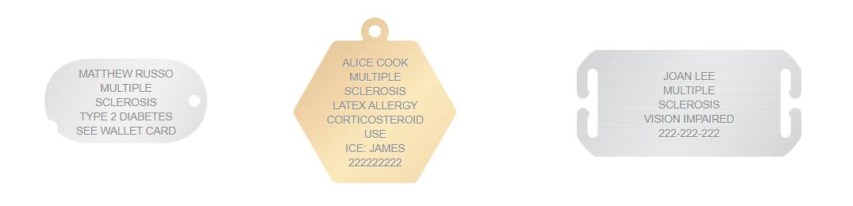 Multiple Sclerosis Emergency Card