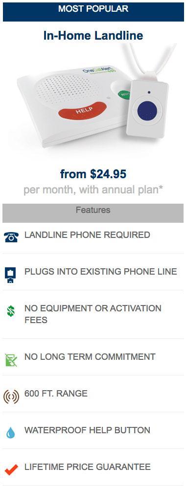 One Call Alert Landline System