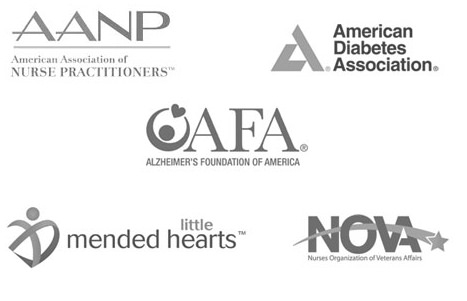 American Medical ID is partnered with national health organizations in the US