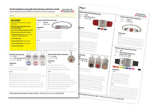 VA Clinician Order Guide
